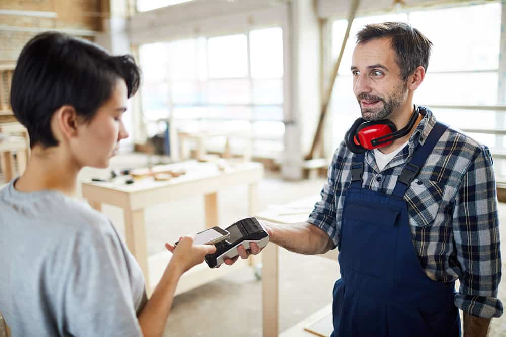 Credit Card Processing for Carpenters